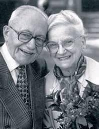idős házaspár