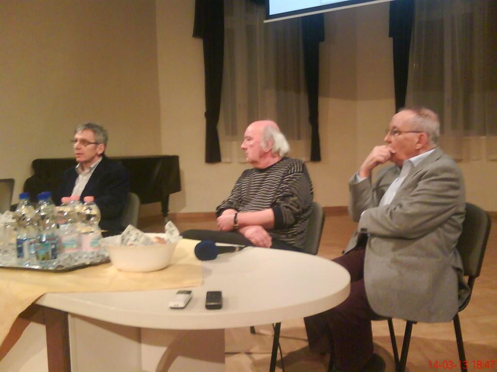 Balról jobbra: Dr Spéderer Zsolt, Dr Varga Pál és Dr Vekerdy Tamás