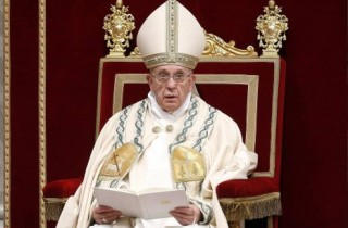 Ferenc pápa cikke
