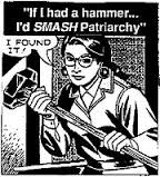 """""""Ha van egy kalapácsom, jól odacsapok a patriarchátusnak!"""" (Férfiaknak? - FL)"""