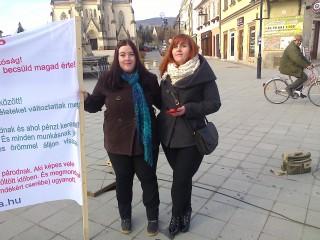 2015. Tavasz, Kőszeg, Nőnap: Kiállás a Nőkért (S még aznap megtaláltatott az annyira áhított házisárkány?)
