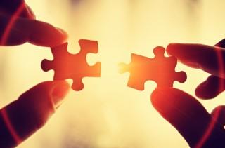 Kiegészítjük egymást, mint két puzzle figura