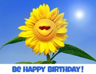 be happy birthday