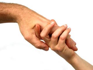 elfogadó kéz