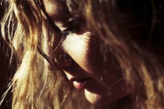 depressziosabb-napon női arc